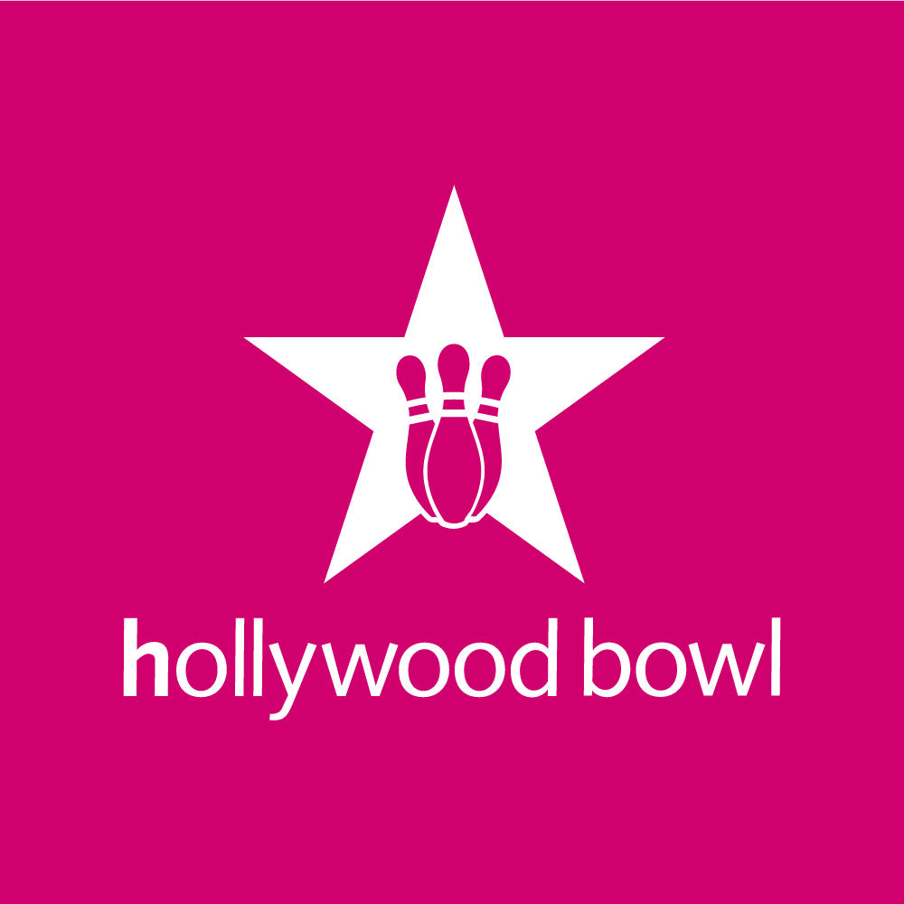 Hollywood Bowl's logo, available at The Read Dragon Centre